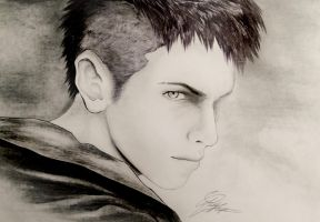 DMC Dante 2 (Pen and Graphite Pencil) by MichelleKnightDA