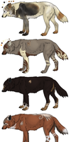 Wolf Design Auction ..::Open For Bidding::.. by XxGoldenBlossomxX