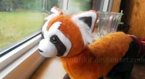 Pabu plush pattern update by PastYourPorchlight