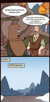 'I got troll'd by Klimmek!' Skyrim comic strip by MakiLoomis