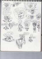 Sketch dump 22 by SonicUnbelieveable