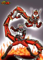 Ryuki Final Vent. by GrandZebulon