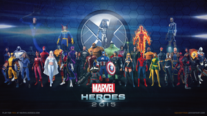 Marvel Heroes 2015 | Wallpaper (UPDATED 8/9) by Squiddytron