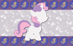 Serene Sweetie Belle WP by AliceHumanSacrifice0