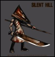 -Pyramid Head- by ZombiDJ