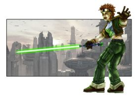 Tiny O'Rourke - Jedi Knight by Scarecrovv