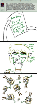 The Legend of Zelda: Toilet Paper by AskMajorasGhost