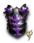 Leather Articulated Armored Corset