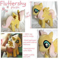 Fluttershy plush by SilkenCat