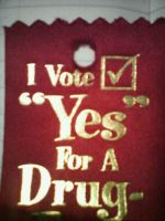 i vote yes for a drug...?! by iamcreepasta