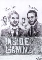 Insidegaming: Adam, Bruce and James by Jerzu97