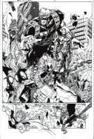 Deadpool page 2 by PeterPalmiotti