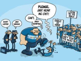 Google Political Cartoon by Consequential-Rebel