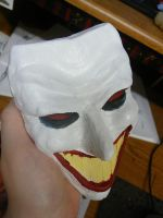 Painted Clay Joker by tree27