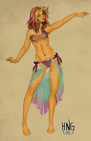 Oceanic Fashionista by seaspire