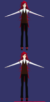 [wip3 - Grell Sutcliff V.2] Almost done :D by Doremi391