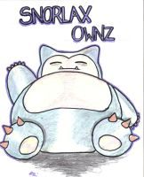 Snorlax Owns by moonfern