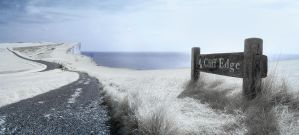 IR Cliff Edge by wreck-photography