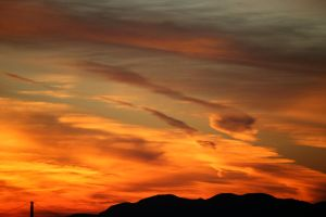1-18-13 Sunset 6 by Arisingdrew