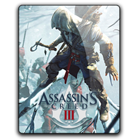 Assassin's Creed III v3-Connor gameicon by Ahssassin0