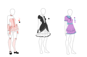 Sweet Lolita Dress Adopts - SOLD by ShadowInkAdopts