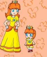 daisy and baby daisy by babyblisblink
