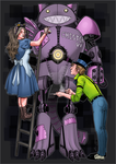 [Commissions]: Let's build that robot. by BleedingHeartworks