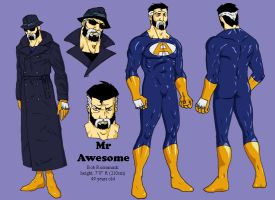 Mr Awesome - Bob Rossomack by Wolcik