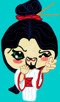 MOVEMBER Orient chibi w MOUSTACHe by CsThRuH2O