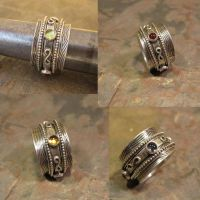 Elements Twiddle Ring by kimistry3