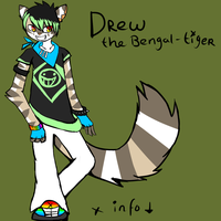 Drew reference sheet by MiriCat