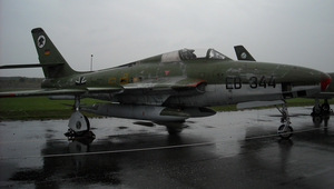 F-84 Thunderflash by MelvWolfe