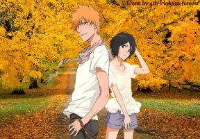 ichiruki autumn by 4th-Hokage-forever