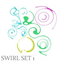 Swirl Brush Set 1 by wilmacki