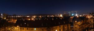 Gdansk - Night View by Mayones