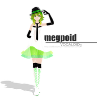 MMD PD - MEGPOID Gumi Camellia + Download Link by AkikoKamui97