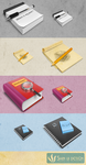 Books 256X4 by Shin-UI