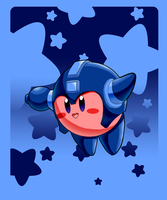 Mega Kirby by slimthrowed