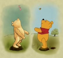 Silly Old Bear by vesparia