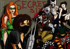 The Secret Six by Flynn-the-cat