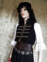 Steampunk-Hussar inspired bolero PCHB1-1 by JanuaryGuest
