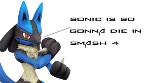 Possibility of sonic being my punching bag in.. by DarkClaw154