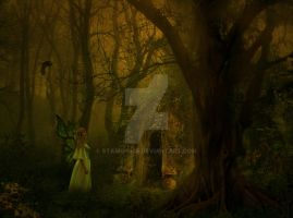Forest Fae by starrprice