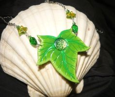 Magic of Ivy - handmade Necklace by Ganjamira