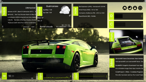 GreenCarpet Pack v1.2 for Xwidget by DubakU
