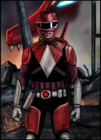Red Ranger Redux by HeroforPain