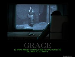 Grace Poster by Overlordflinx