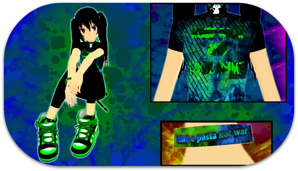 MMD-So I updated myself HERP-A-DERP by Mew-Ayame