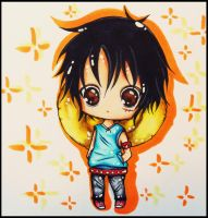 chibi luffy for KawaiiDarkAngel by KawaiiiPandaMuffiiin