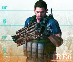 The Prisoner of Love - Chris Redfield by MayaRokuaya